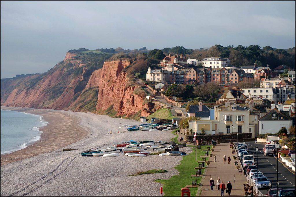 Budleigh Salterton Beach in Devon - best beaches in devon and cornwall