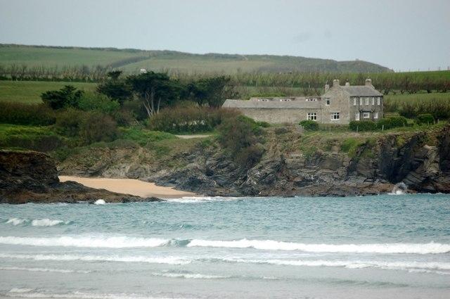 Harlyn Bay in Cornwall