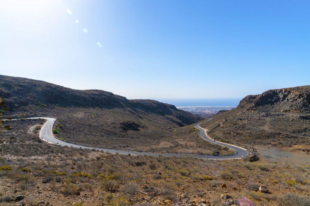 Gran Canaria mountain road