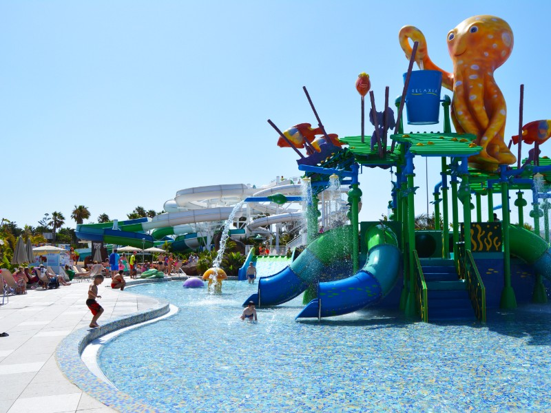 Aqualava Water Park Lanzarote - Octopus Area