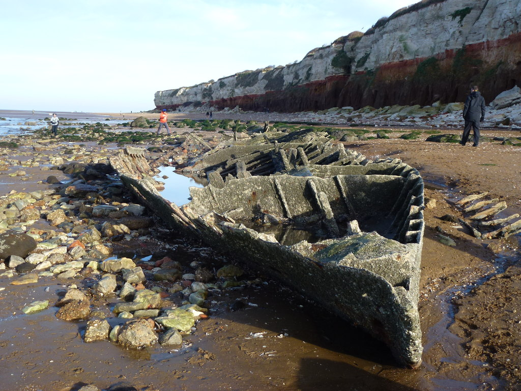 The wreck of the Sheraton